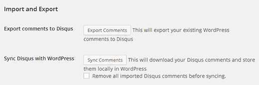 Export WordPress comments to Disqus Commenting System