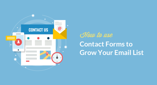 How to use Contact Forms to Grow Your Email List