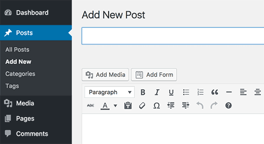 Add payment form to a WordPress post or page