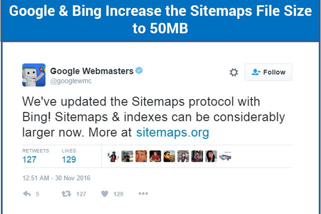 Google-Bing-Sitemap-File-Size-Limit-Increased-from-10-Mb-to-50-Mb