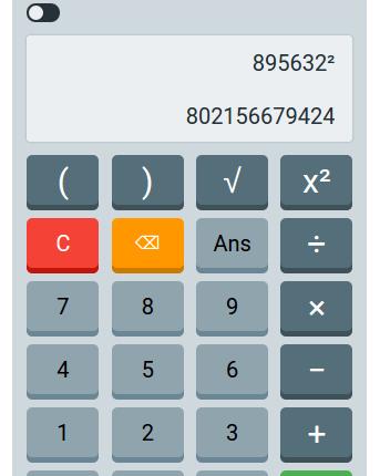 Nice Calculator App