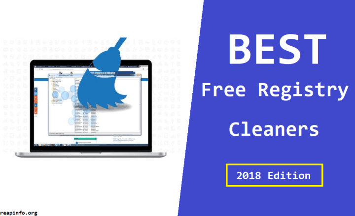 Best Free Registry Cleaners 2018 latest