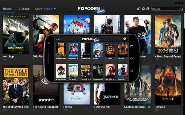 Popcorn Time - Watch Full TV Shows And Episodes Online