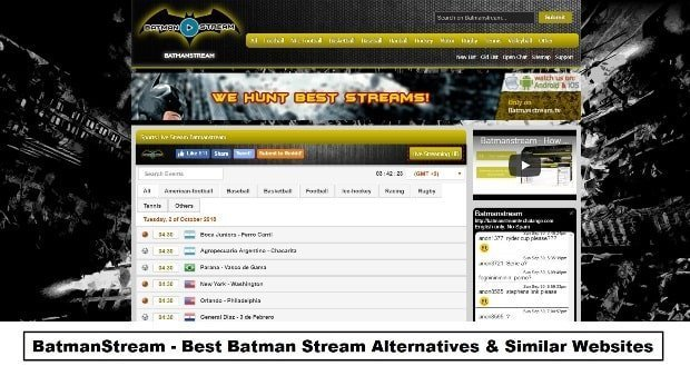 Batman Stream Football
