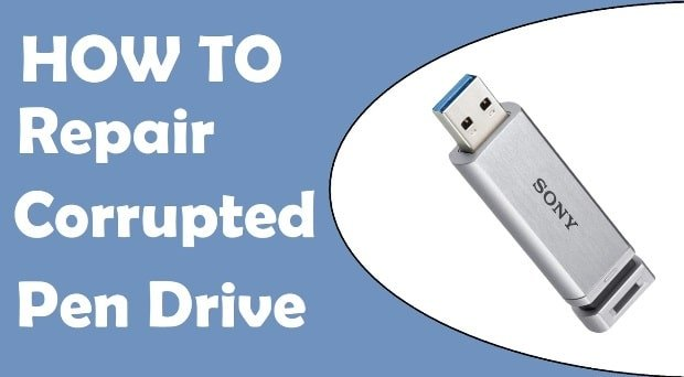 How To Repair Corrupted Pen Drive And USB-min