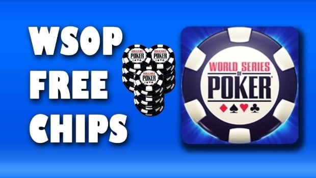 How to Get Free WSOP Chips & Codes-min
