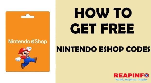 how to get free nintendo eshop codes-min