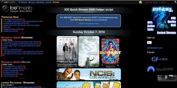 best torrent streaming sites 2018