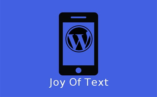 Joy of Text