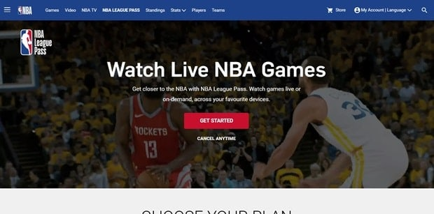 nba league pass-min