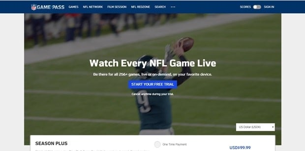 nfl game pass-min