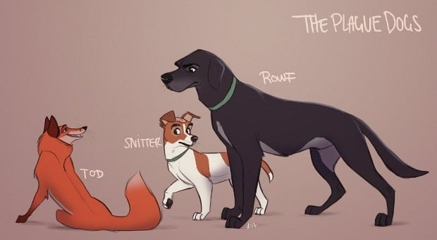 the plague dogs-min