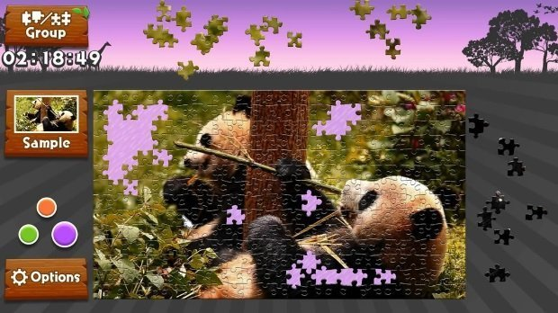 Animated jigsaws Wild animals