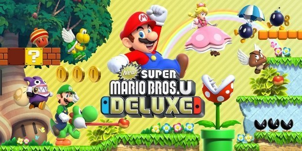 new super mario bros u deluxe edition nintendo switch