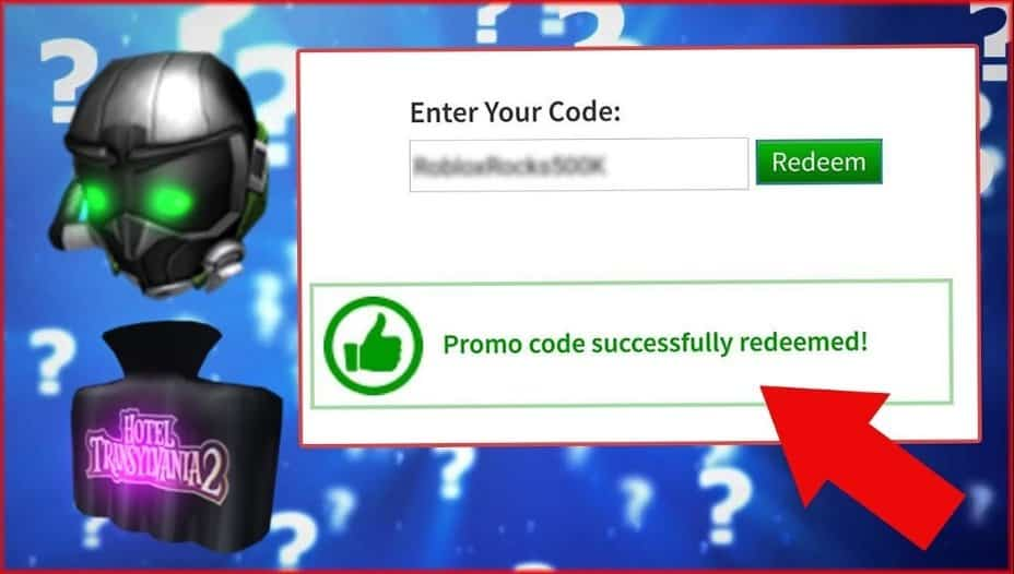 promo codes that work for roblox