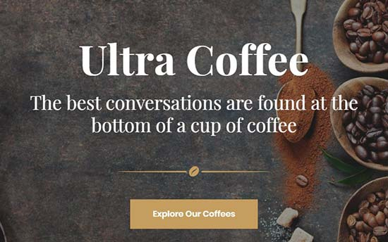 Themify Ultra Coffee