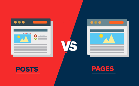 Posts vs Pages - What's the difference?