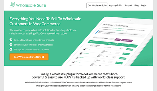 WooCommerce Wholesale Suite