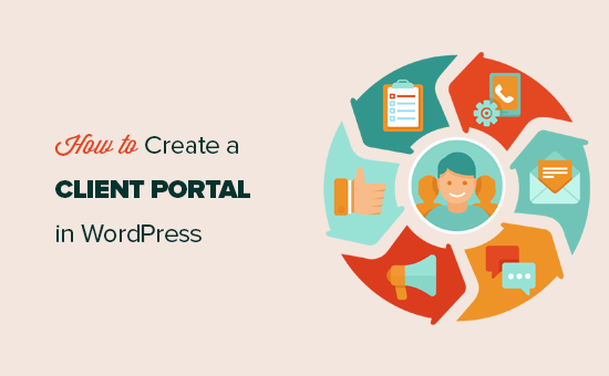 Creating a client portal in WordPress